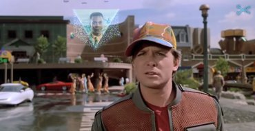 2015. gads fantastikas filmā 'Back to the Future II'