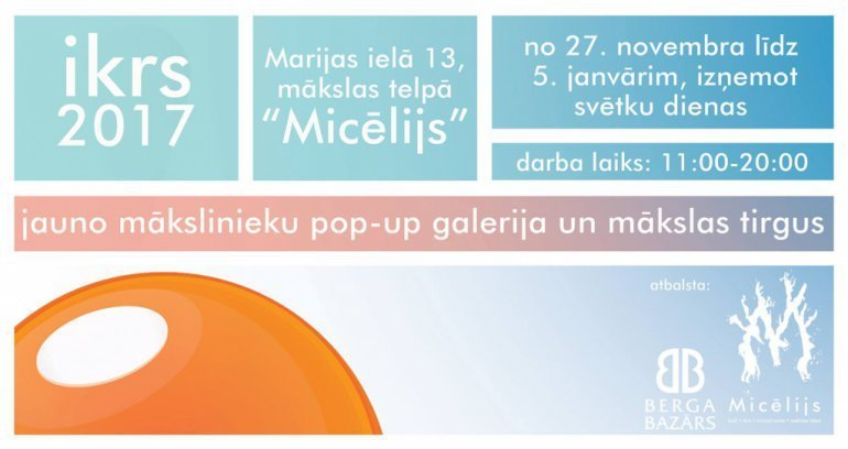 "Pop-up galerija ""Ikrs"""