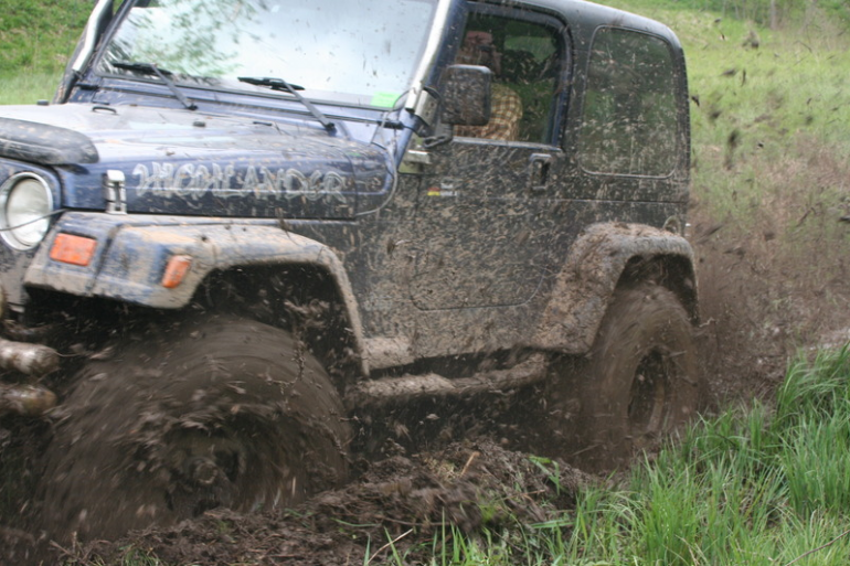4x4 off-road trase